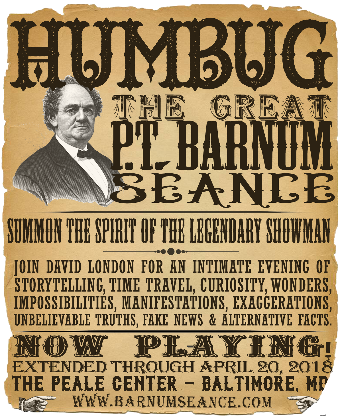 HUMBUG: The Great P.T. Barnum Seance